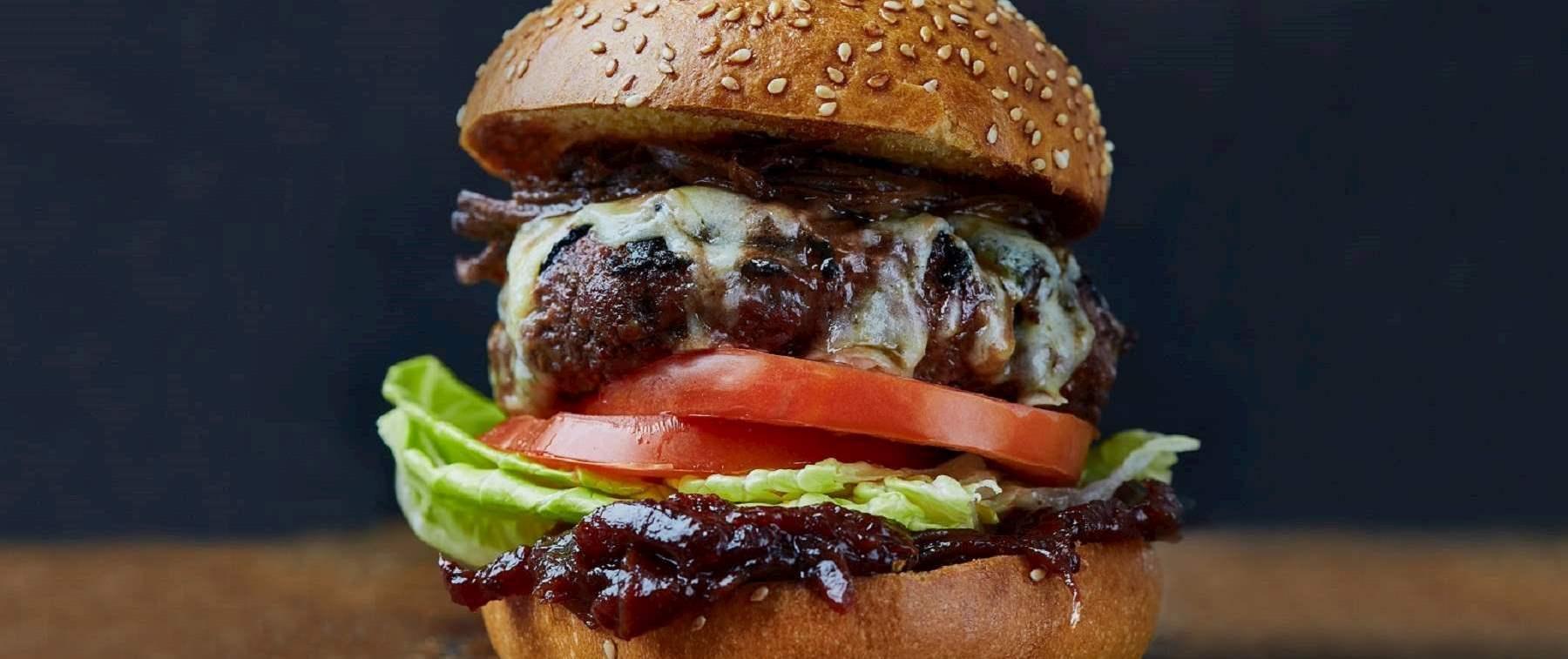 The Pickled Hen Burger